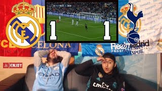 BarÇa fan reacts to real madrid & tottenham draw 1-1 - live reaction