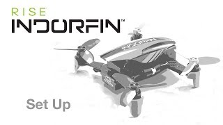 RISE Indorfin 130 Brushless FPV Race Drone RTF 200mW Video