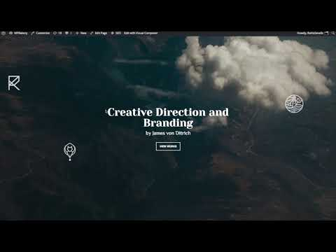 How To Build Layout With Parallax Section