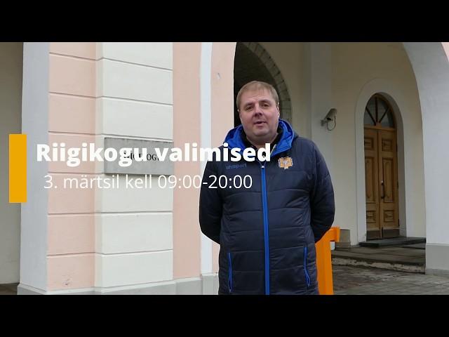 Riigikogu valimised 2019. Tänan, et mind valisite!