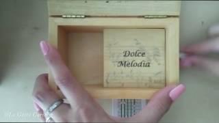 Io vagabondo - Nomadi, Carillon Portagioie personalizzato con spartito