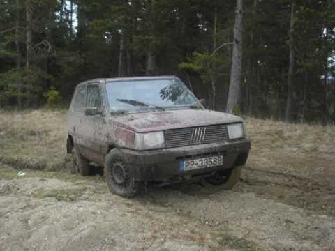 Fiat panda 4x4 off road movie 2 youtube for Panda 4x4 sisley off road