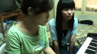 Wish you were here (Avril Lavinge) - Supercute Gabbi & Tieu Ac Nhan (cover)
