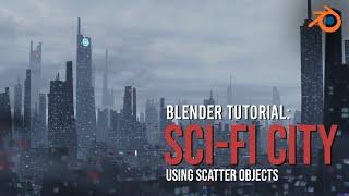 Create A Quick Sci-Fi City - Blender 2.9 Tutorial