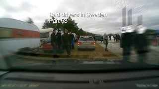 Bad Drivers in Sweden #58 Incidents and highway fools