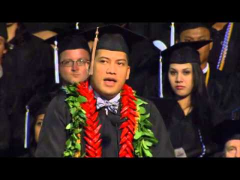 Chaminade University Spring 2014 Graduate Speaker