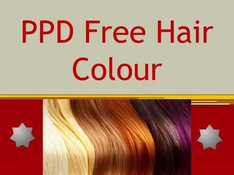 PPD Free Natural Hair Colour  YouTube