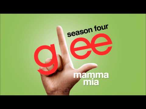 Glee  ABBA songs compilation Dancing Queen, Mamma Mia, Winner Takes It All
