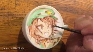 紅茶ラテアート【ティーちゃん】@カフェちゃんとブレークタイム