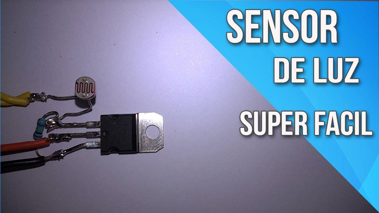 Sensor de luz com apenas 3 componentes youtube - Sensor de luz precio ...