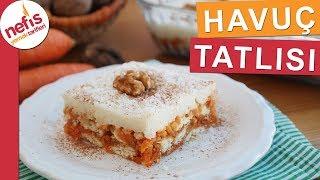 Muhallebili Havuç Tatlısı Tarifi  - Yedikçe yediren pratik tatlı