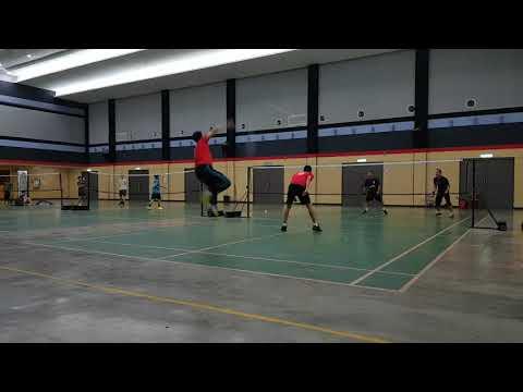 Badminton SUBC Open Court Abg Din & Kamal Vs Danish & Amin