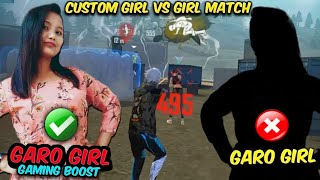 Garo Girl Gaming Boost Vs Garo girl  Challange #Total  Gaming time 15:50 minutes