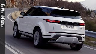 2020 Range Rover Evoque R-Dynamic S | Fuji White | Driving Footage