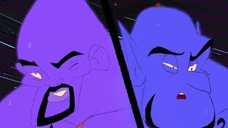 Prince Ali Remix - Aladdin Will Smith and Robin Williams Tribute | Cartoon Fight Club
