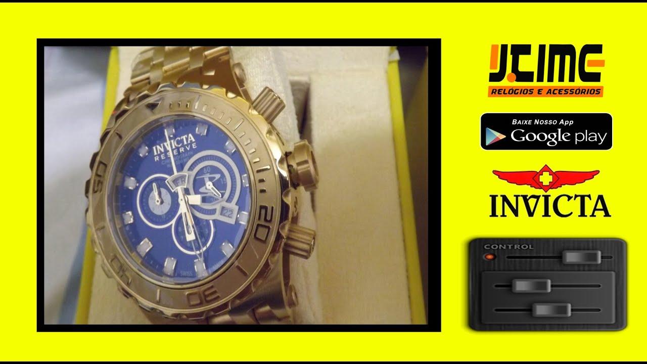 68dde280c08 Invicta 6902 Reserve Arlindo cruz - Jtime Relógios Salvador - YouTube