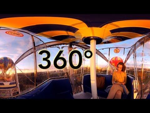 Brasília 360 roda gigante - filme 360° VR