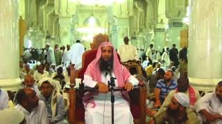 6-55/ ماحكم من تمتع وتحلل من العمرة بقص شعرات يسيرة ؟ ll الشيخ عبد المحسن الزامل
