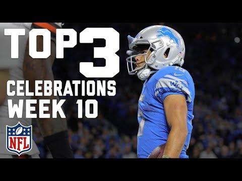 Top 3 Celebrations of Week 10! | Celebration Station | NFL NOW