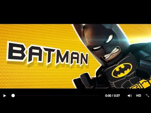 【樂高玩電影】角色介紹_蝙蝠俠