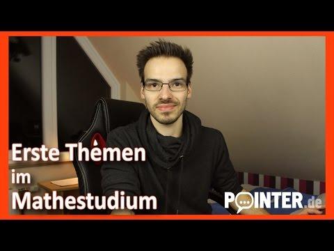Patrick vloggt - Die ersten Inhalte des Mathestudiums