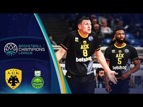 Aek V Teksüt Bandirma – Highlights – Basketball Champions League 2019-20