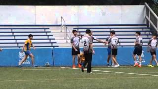 20160123 B grade Rugby 第二場(精華)