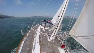 Sailing San Francisco with Boundless, our Passport 42