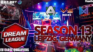 Alliance  vs Nigma  | Best of 3 | DreamLeague Season 13 | EU Close Qualifier Playoffs