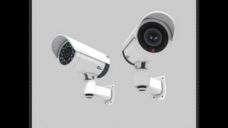 Papercraft CCTV Security Camera