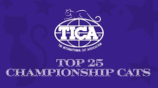 Top 25 Championship Cats
