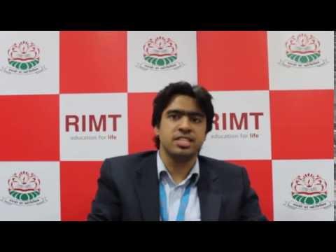 Peeyush Sharma (RIMT Batch 2009-13), Digital Forensics Analyst Trainee at Data64 Cyber Solutions