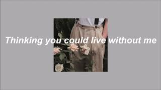 Alec Chambers - Without Me // lyrics