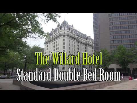 Standard Double Room at Willard Hotel