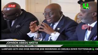 'President Akufo-Addo Misappropriating State Funds' NDC General Secretary