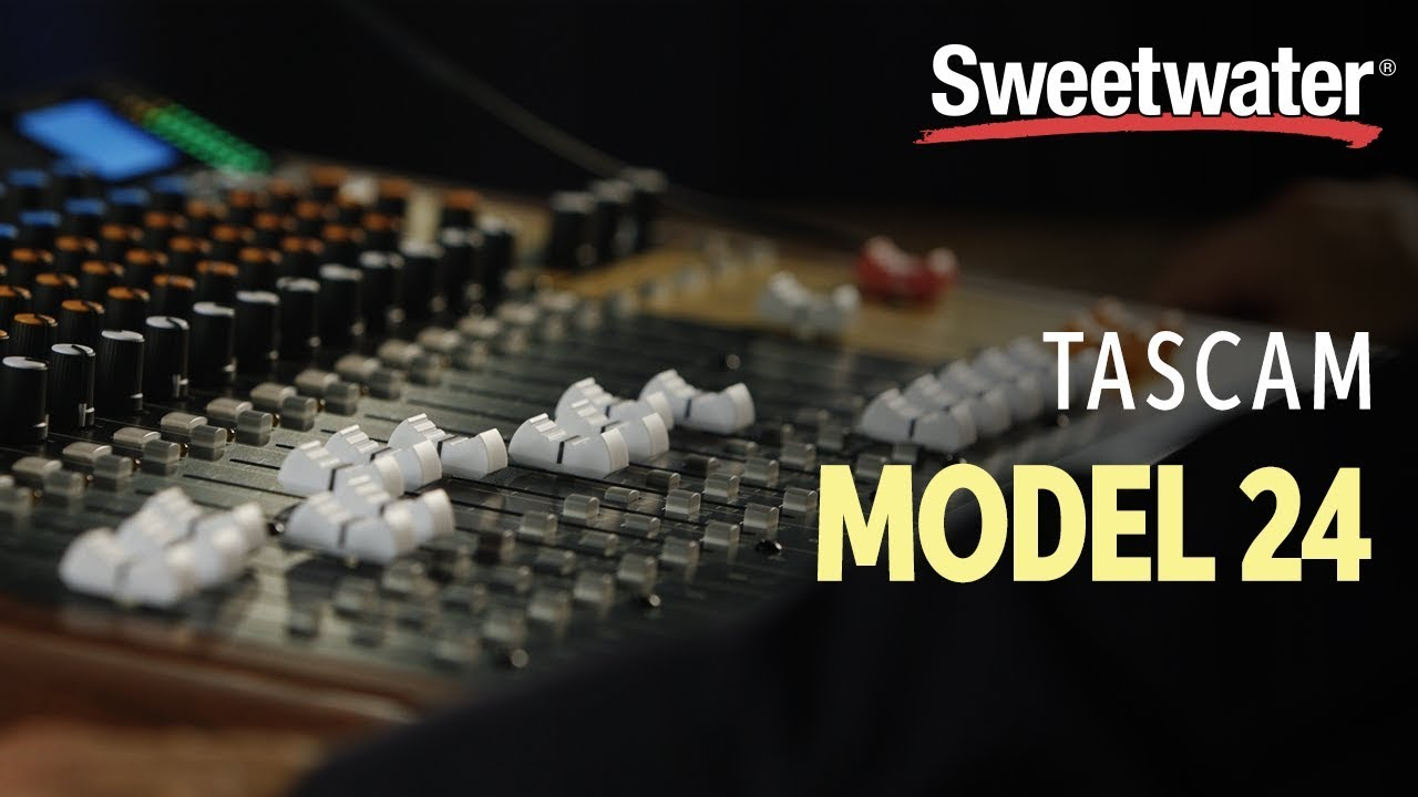TASCAM Model 24 Mixer / Interface / Recorder | Sweetwater