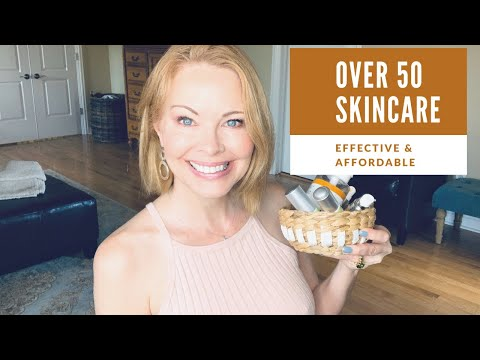 Over 50 Beauty   ANTIAGING Skincare, Effective & Affordable🌷