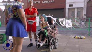 Metro Veinte / 4 Feet: discapacidad, sexualidad y realidad virtual