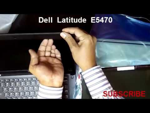 How To Replace Laptop Screen, Dell Latitude E5470/E5450 LCD Screen Replacement Video Tutorial