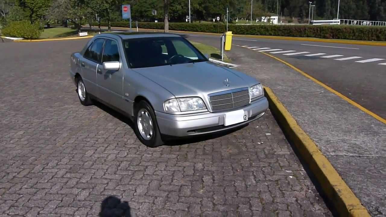 Mercedes benz c180 classis 1997 manual vende se youtube for 97 mercedes benz