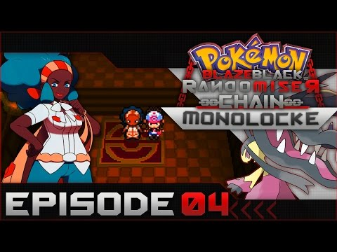 "Pokemon Blaze Black Random Chain-Monolocke |#04| ""Dat Basic Badge Thoo"""