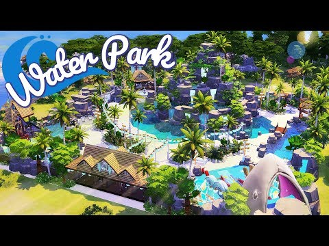 The Sims 4 | TROPICAL WATER PARK | Speed Build