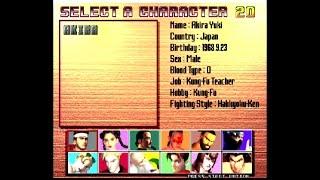 Jacky Arcade mode   Virtua Fighter 3 Dreamcast