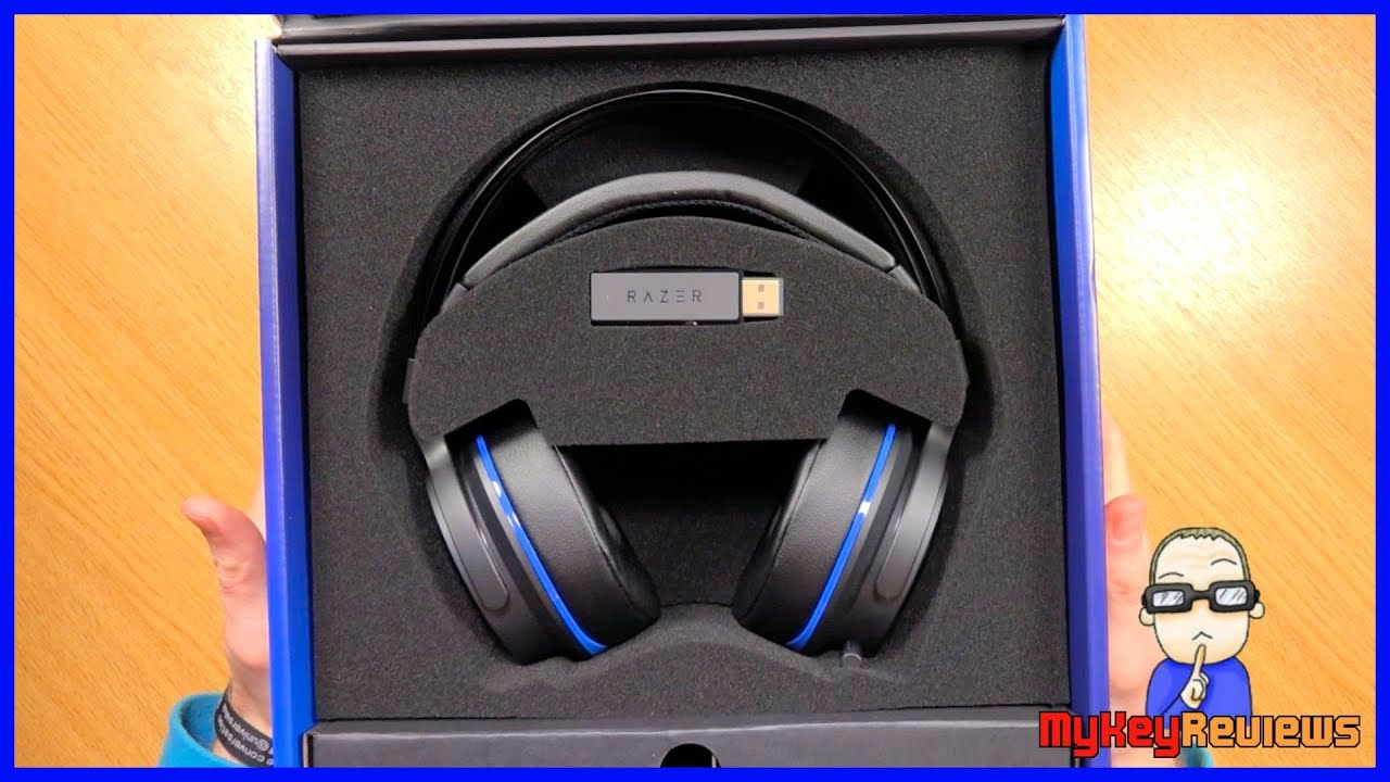 razer thresher 7 1 wireless gaming headset ps4. Black Bedroom Furniture Sets. Home Design Ideas