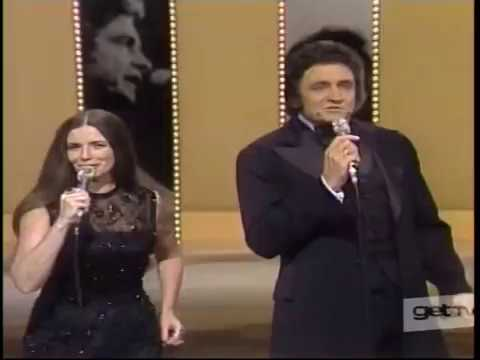 Johnny Cash June Carter Sing A Feverish Jackson Live 1976