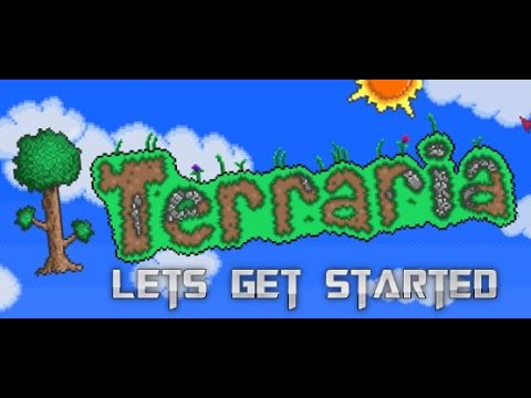how to get started in terraria