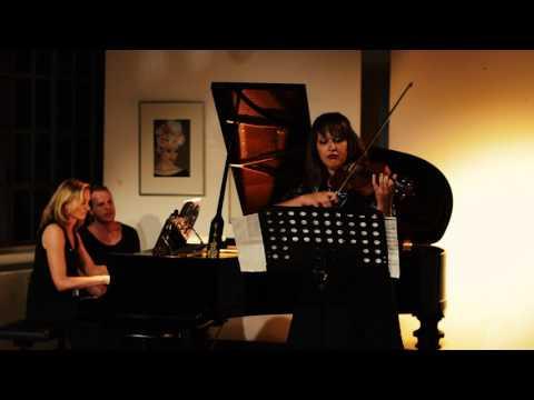 Horon (Ahmed Adnun SAYGUN) Melodi Kayis, Violin - Chanda VanderHart, Piano