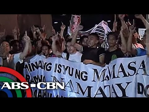 INC members bring protest to EDSA