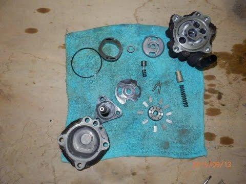 BMW 325 i E46  power steering pump