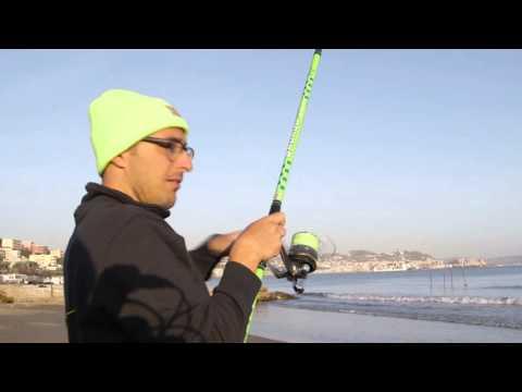 Italian Fishing TV - Scorziello - Surfcasting a  Mormore con Bad Bass Technology